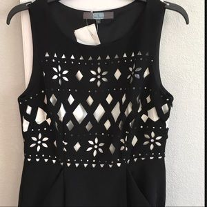 24a7f4bd4301 Eva Franco Dresses - Eva franco cato Black Floral dress Size 10 NEW